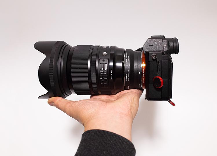 SIGMA 24-105mm F4 DG OS HSMとα7Ⅲ
