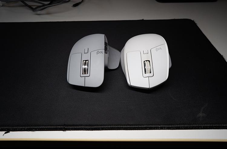 MX Master3前モデルとの比較-前面