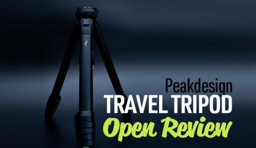 【画像多数】ピークデザインの三脚 Travel Tripod到着!開封レビュー